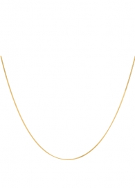 Anna + Nina square-plain-necklace