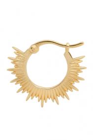 Anna + Nina rising-sun-ring-earring