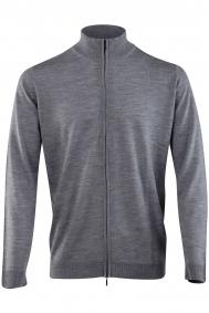 Leurink Knitwear capri-cardigan-2-way-zipper