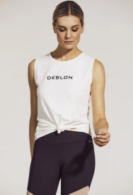 Deblon Sports jackie-sleeveless-logo-top-940