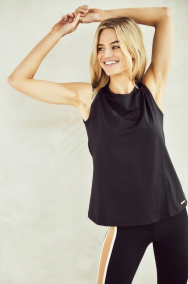 Deblon Sports jackie-sleeveless-logo-top-910
