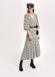 Essentiel Antwerp vip-long-wrap-dress