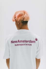 New Amsterdam Surf Associaton logo-tee-2021017
